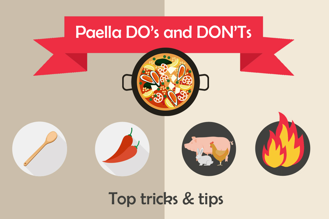 paella do and donts