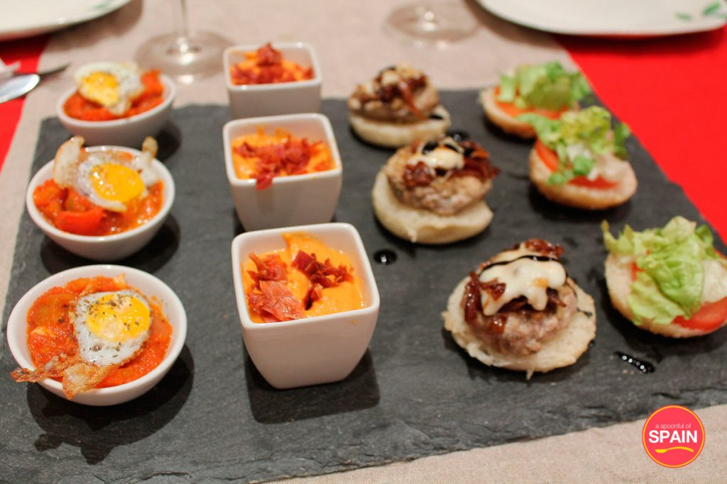 Pisto and Spanish tapas