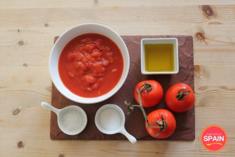 Spanish Tomato Sauce Ingredients